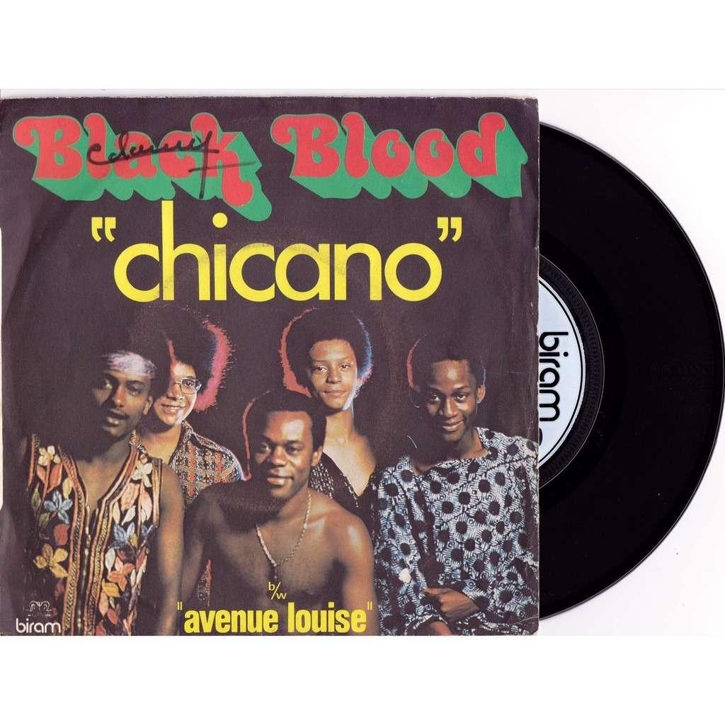 black blood chicano avenue louise 45t sp 2 titres en