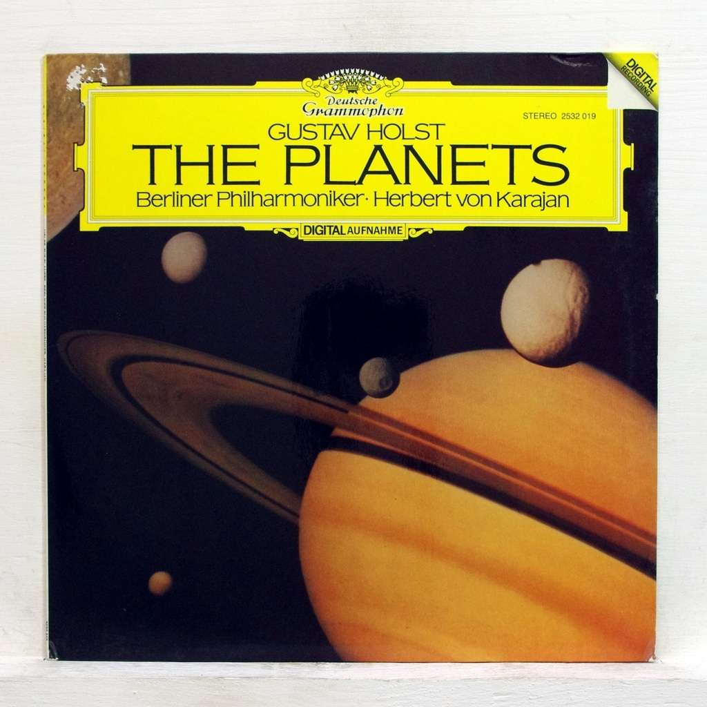 Gustav : holst the planets op.32 by Herbert Von Karajan ...