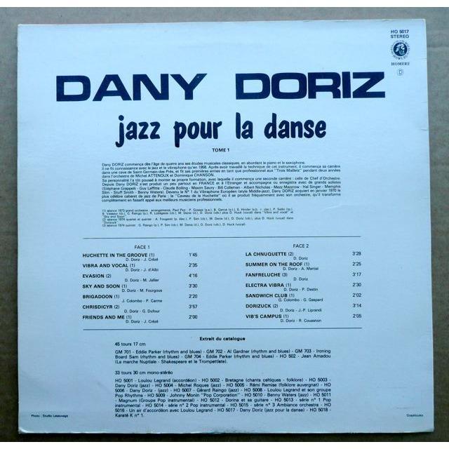 Dany Doriz Jazz Pour La Danse