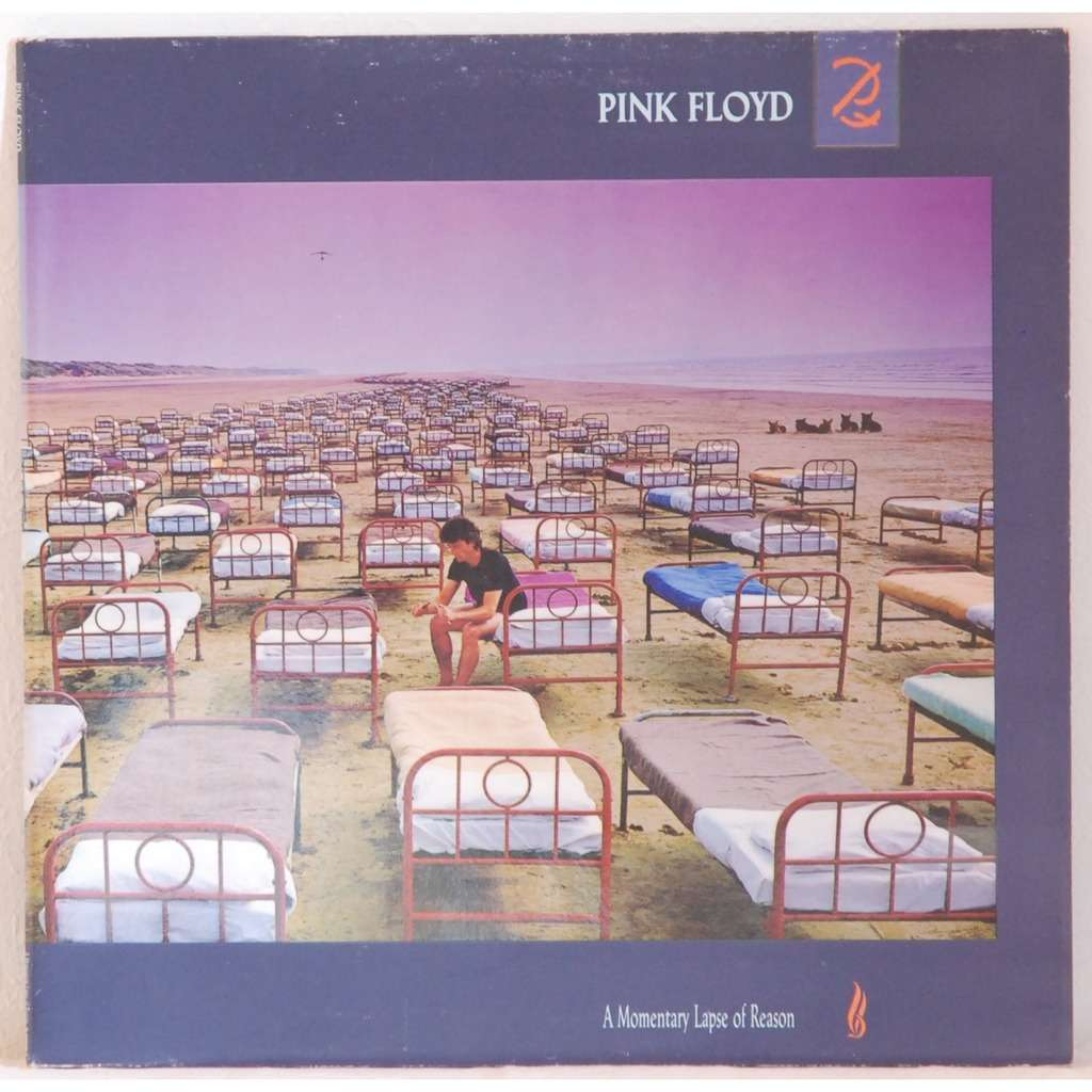Pink Floyd A Momentary Lapse Of Reason Album Cover Pink floyd a
