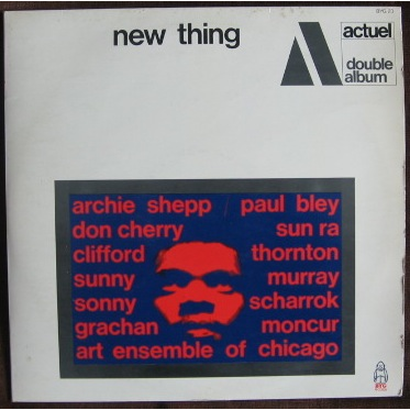 VARIOUS ARTISTS ACTUEL NEW THING