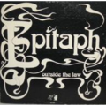 EPITAPH - OUTSIDE THE LAW [very rare stuff] - 33T