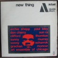 VARIOUS ARTISTS - ACTUEL NEW THING - 33T x 2