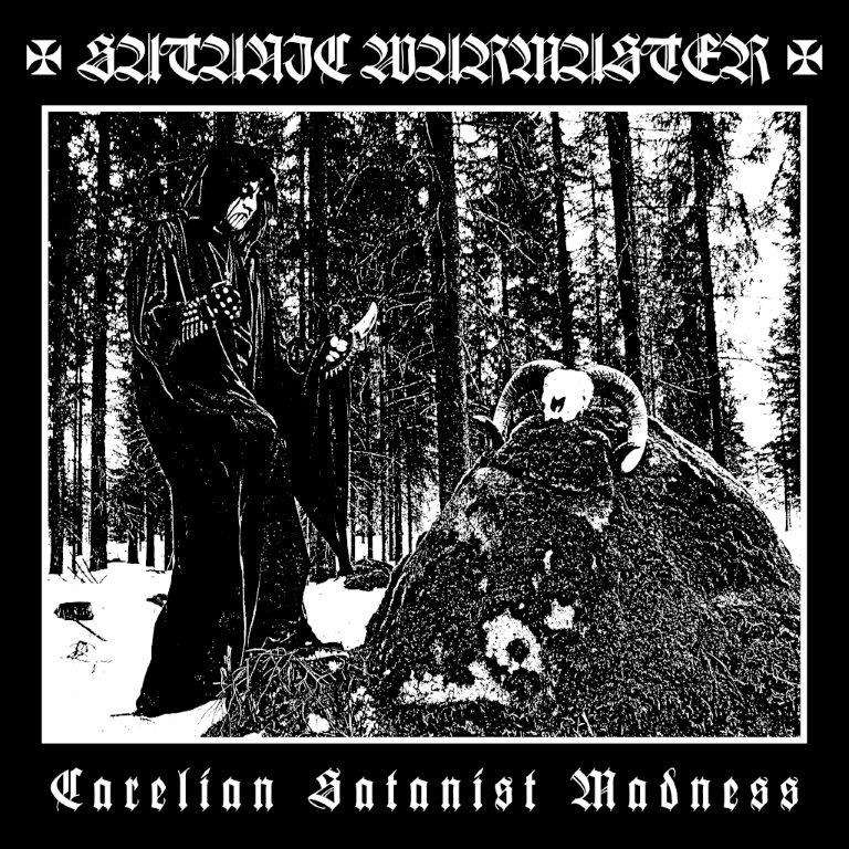 Satanic Warmaster Carelian Satanist Madness Black Vinyl