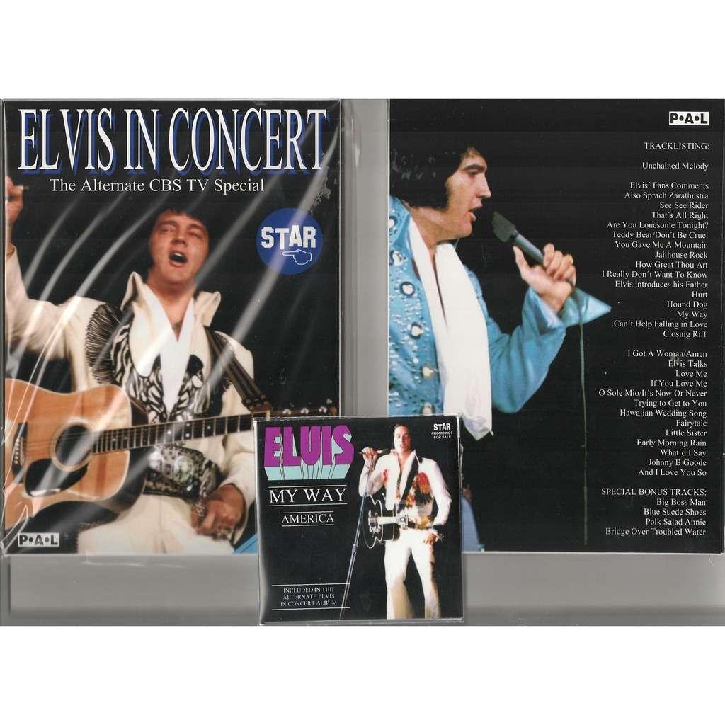 Close Elvis Presley The Alternate 1977 Cbs Tv Special Dvd