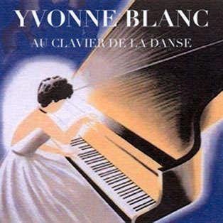 yvonne blanc Au clavier de la danse