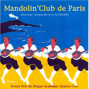 mandolin club de paris Maria Morena