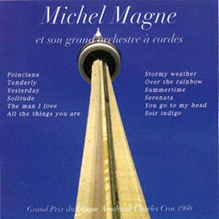 Michel Magne & son grand orchestre à cordes 12 célèbres slows
