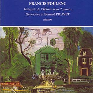 Geneviève & Bernard Picavet Francis Poulenc