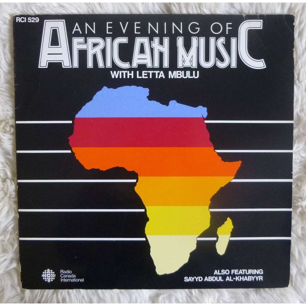 LETTA MBULU AN EVENING OF AFRICAN MUSIC