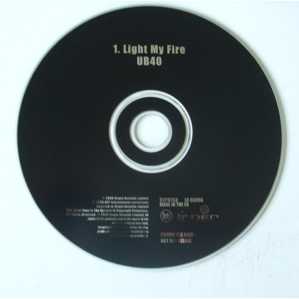 light my fire by ub40 cds with dom88 ref 116214733. Black Bedroom Furniture Sets. Home Design Ideas