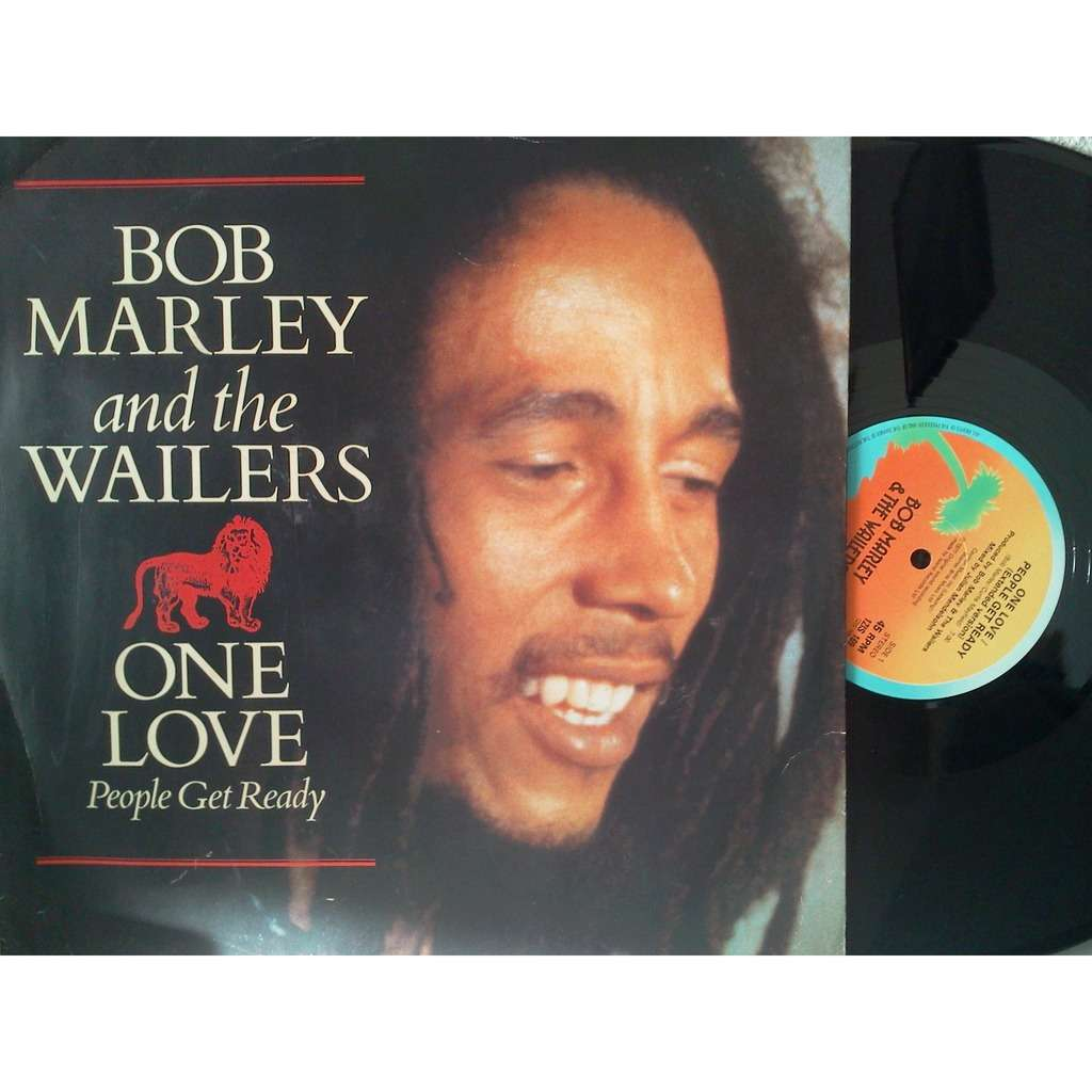 bob marley and the wailers one love /so much trouble / keep on moving (poster bag)