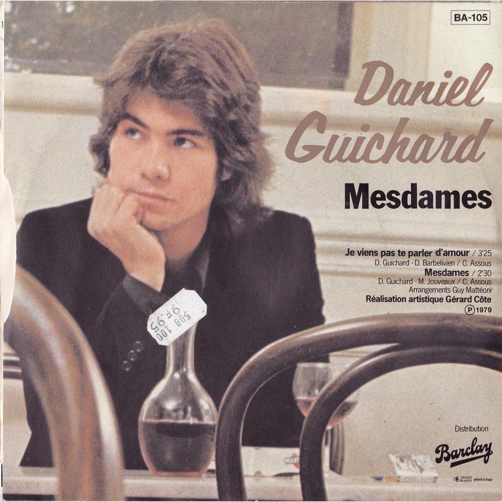 Daniel Guichard - Je N'Fais Rien...