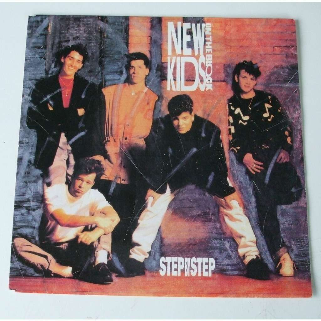 Step by step / valentine girl by Nkotb (New Kids On The Block), SP ...