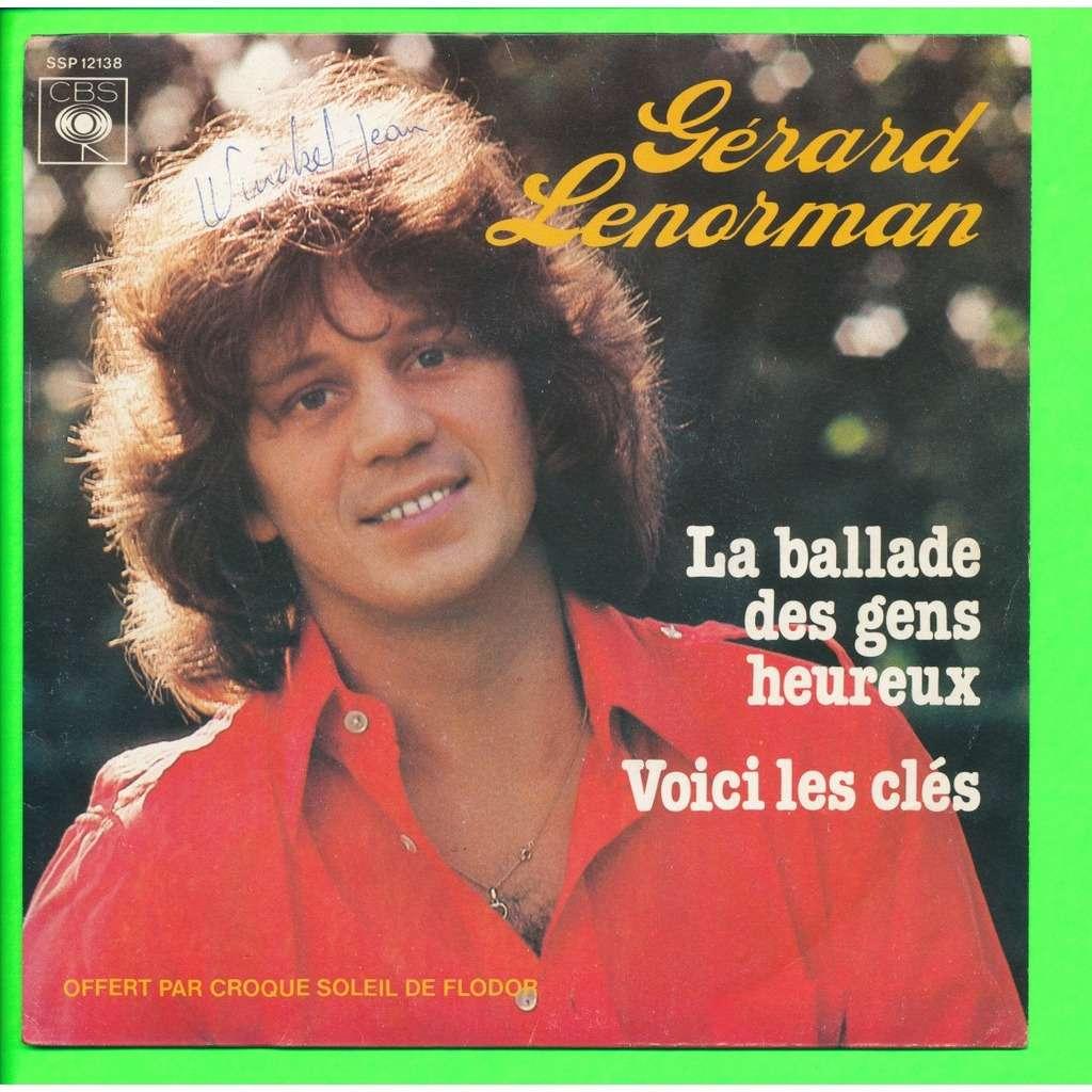 Gérard Lenorman La Ballade Des Gens Heureux