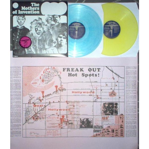 Freak Out Usa Ltd 25 Copies Promo 2lp Blu Amp Yellow Wax