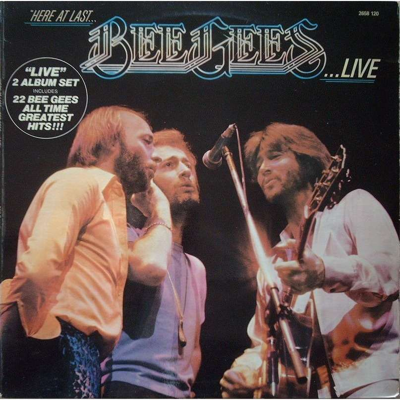 BEE GEES LIVE (double)