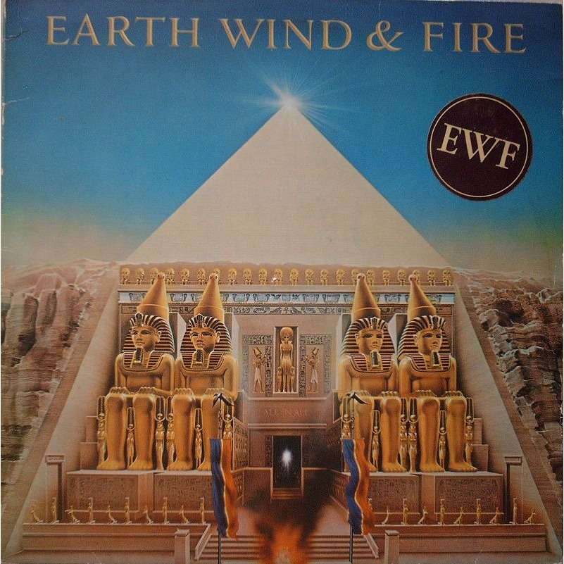 EARTH WIND &FIRE ALL'N'ALL(complet avec poster)