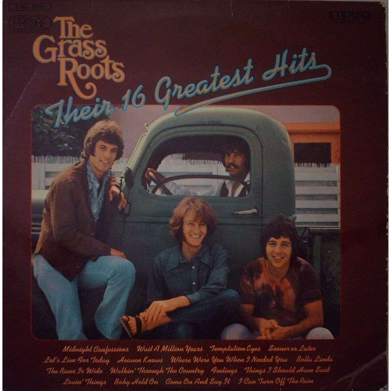 GRASS ROOTS THEIR 16 GREATEST HITS