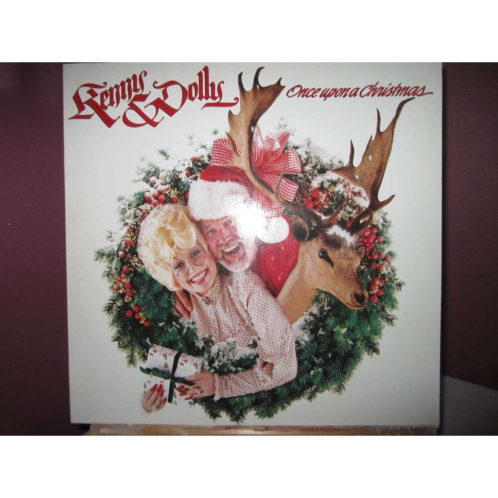 Once upon a christmas by Kenny Rogers & Dolly Parton, LP with ...