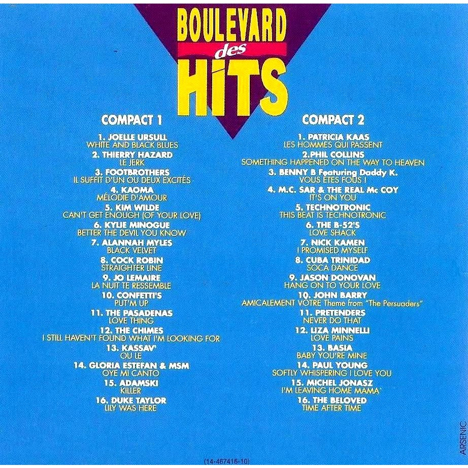 Boulevard Des Hits Vol 11 By Jo Lemaire Footbrothers
