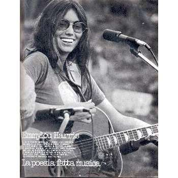Emmylou Harris CIAO 2001 (22.02.1976) (ITALIAN 1976 MUSIC MAGAZINE)
