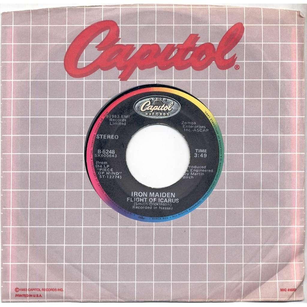 Iron Maiden Flight Of Icarus (USA 1983 2-trk 7 on Capitol lbl Capitol slv)