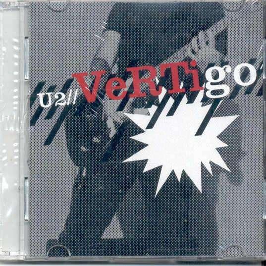 u2 Vertigo (German 2004 Ltd 2-trk 3inch CD full ps-still sealed copy)