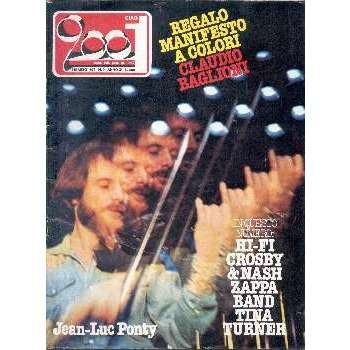 Jean-Luc Ponty CIAO 2001 (04.03.1979) (ITALIAN 1979 PONTY FRONT COVER MAGAZINE)