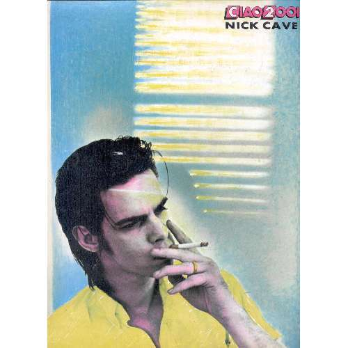 Nick Cave CIAO 2001 (01.02.1989) (ITALIAN 1989 NICK CAVE BACK CoVER MAGAZINE)