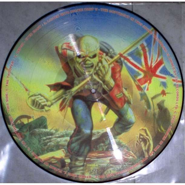 iron maiden Flight Of Icarus / The Trooper (UK promo 'First Ten Years' Ltd 5-trk 12ep Picture Disc)