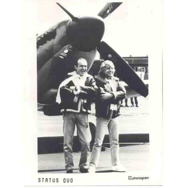 Status Quo Status Quo (UK 80s original Phonogram press kit promo photo)