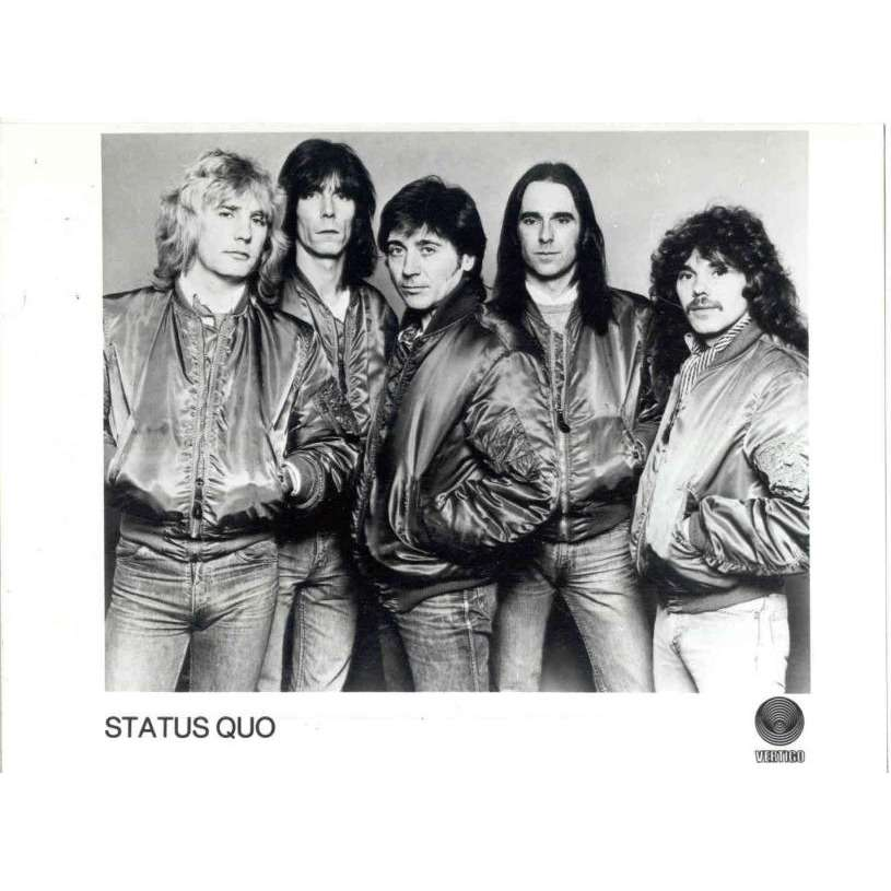 Status Quo Status Quo (UK Vertigo promo press kit photo)