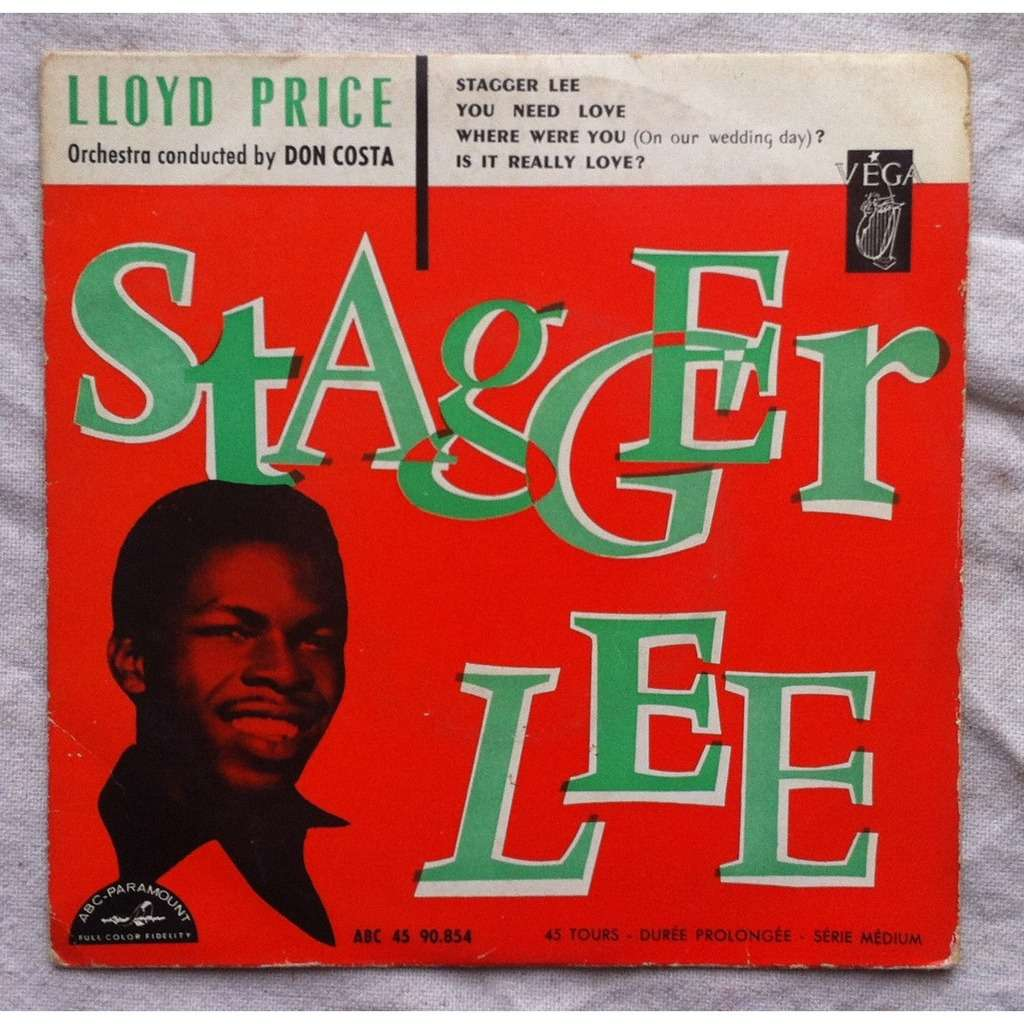 Stagger Lee 3 By Lloyd Price Ep With Airwaytovesten