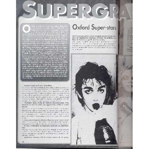 Supergrass ROCKERILLA (N.178 JUNE 1995) (ITALIAN 1995 MUSIC MAGAZINE)