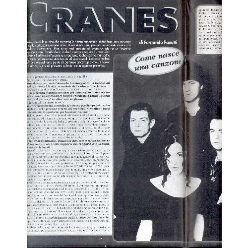 Cranes ROCKERILLA (N.175 MARCH 1995) (ITALIAN 1995 MUSIC MAGAZINE)