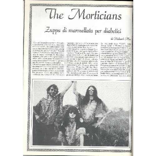 The Morticians ROCKERILLA (N.99 NOV. 1988) (ITALIAN 1988 MUSIC MAGAZINE)