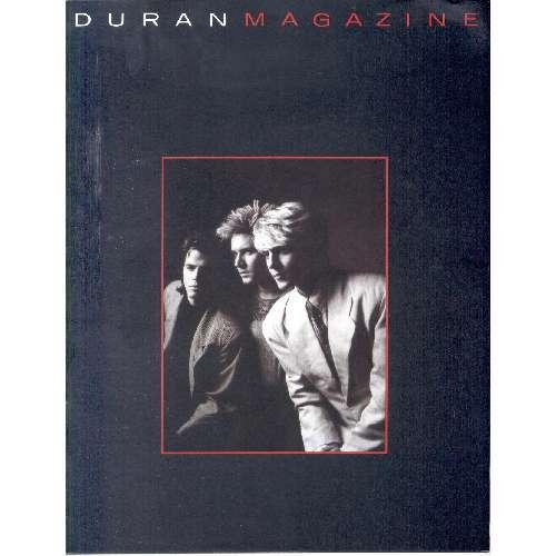 Duran Duran DURAN DURAN MAGAZINE (1987) (UK 1987 PROMO FAN-CLUB MAGAZINE)