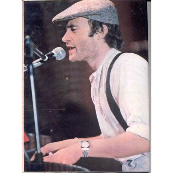 Genesis / Phil Collins CIAO 2001 (09.08.81) (ITALIAN 1981 MUSIC MAGAZINE)