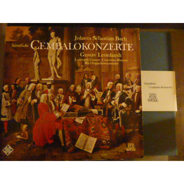 gustav leonhardt bach The cembalo concertos (complete)