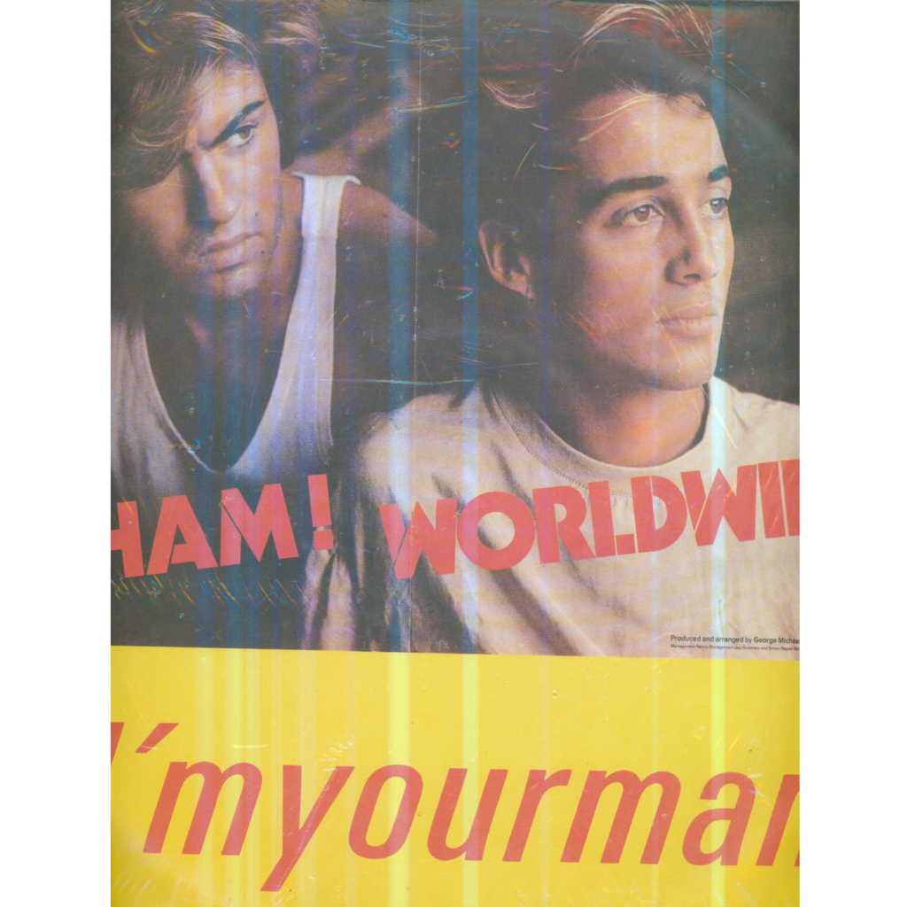 WHAM! I'M YOUR MAN / DO IT RIGHT / I'M YOUR MAN (ULTRA RARE CHINESE PRESSING)