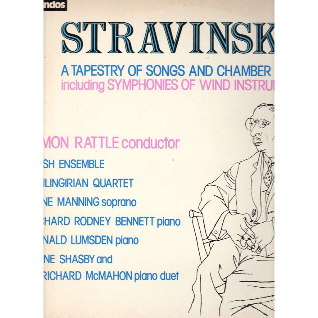igor stravinsky a tapestry of songs and chamber music