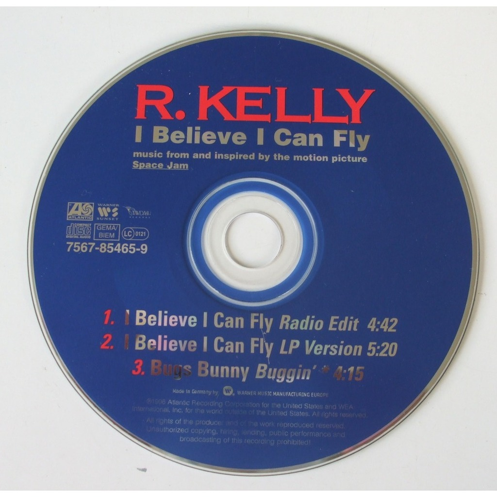 I believe i can fly by R Kelly, CDS with dom88 - Ref:116263505
