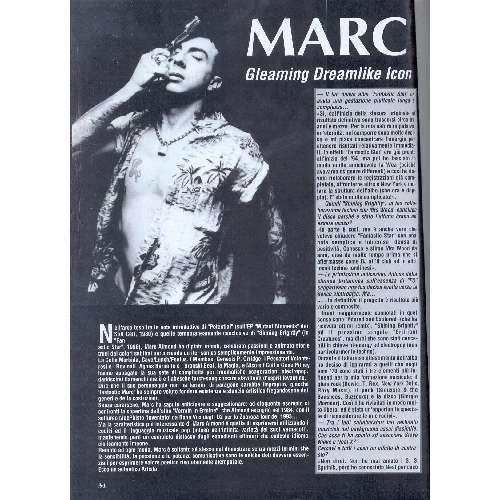 Soft Cell / Marc Almond ROCKERILLA (N.187 APRIL 1996) (ITALIAN 1996 music MAGAZINE)