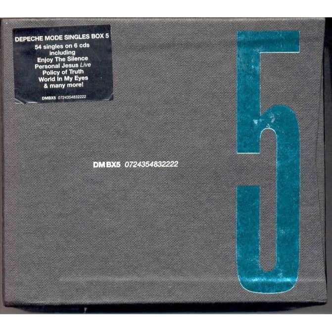 Depeche Mode Single Box 5 (Euro 2004 Ltd 6x CD singles box set)