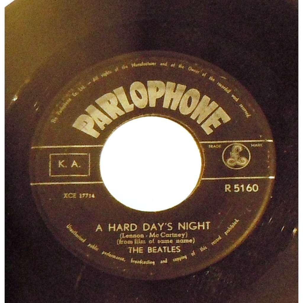 THE BEATLES A hard day's night - Things we said today