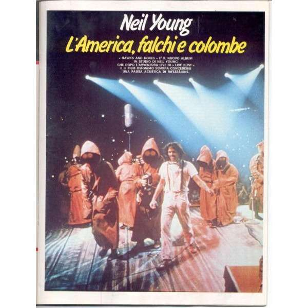 Neil Young CIAO 2001 (30.11.1980) (ITALIAN 1980 MUSIC MAGAZINE)