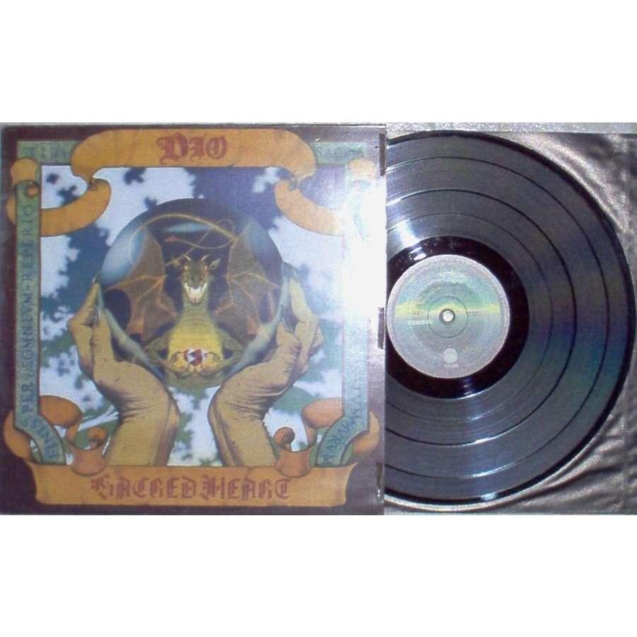 Dio Sacred Heart (Italian 1985 9-trk LP ps & inner slv)