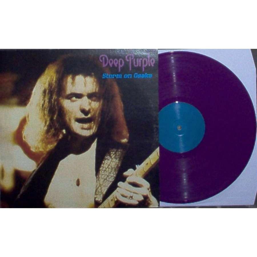 Deep Purple Storm On Osaka (Live in Osaka Japan 27.06.1973) (Ltd 150 copies LP PURPLE vinyl No'd ps)