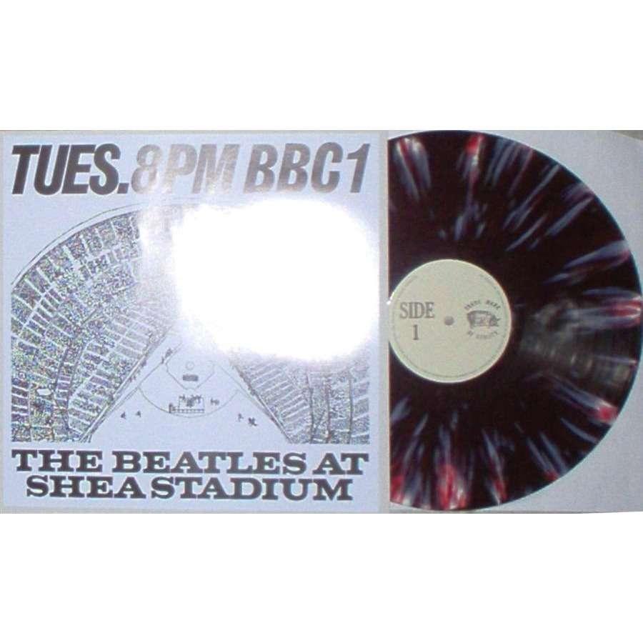 Beatles The Beatles At Shea Stadium (Ltd 250 copies live LP MCV on new TMQ lbl insert ps)
